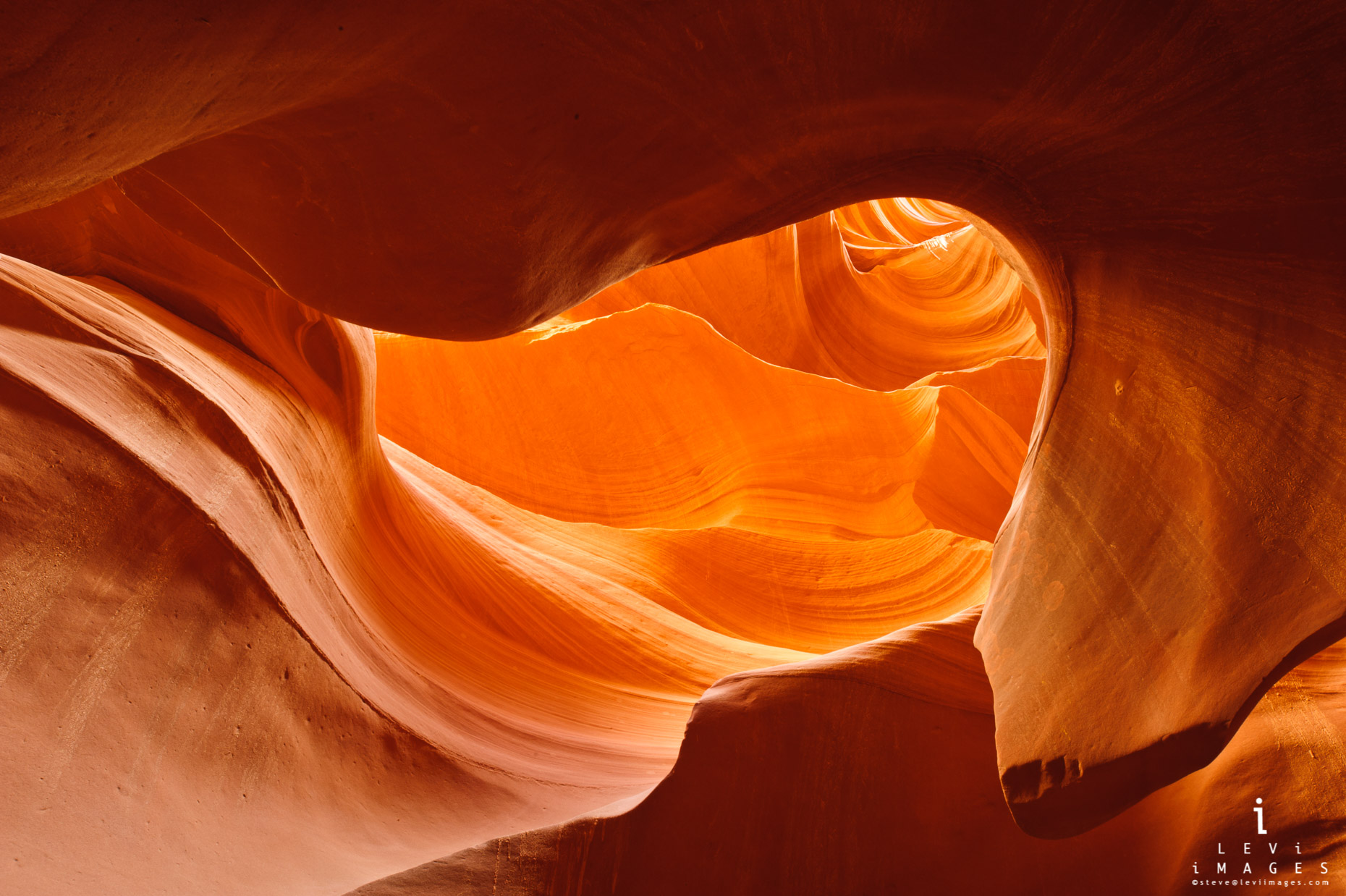 Arizona slot canyon abstract. Page Arizona
